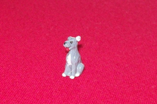CORGI TOYS 486 - Reproduction - Kennel Club plastic sitting mongrel dog